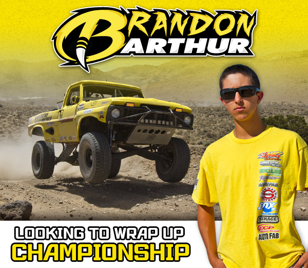 Brandon Arthur, HDRA, Competitive Metals, Fox Racing Shox, Rigid Industries