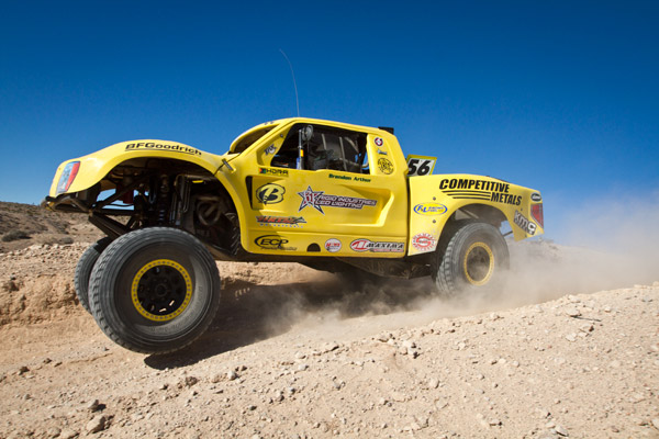 Bink Designs, Competitive Metals, KMC Wheels, Trophy Truck