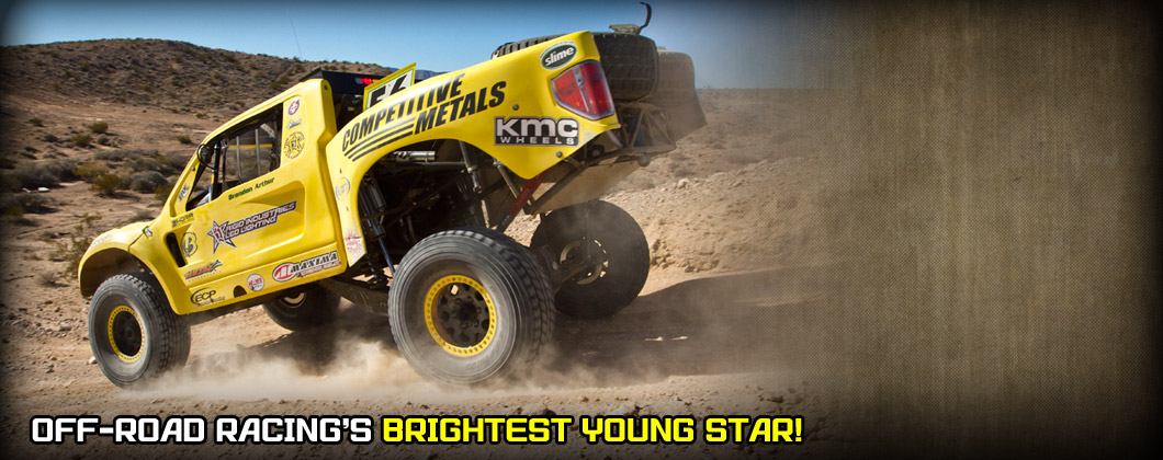 Brandon Arthur Trophy Truck, F&L Racing Fuels, Competitive Metals