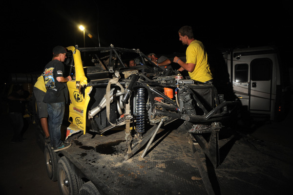 Crash, Wrecked, Trophy Truck, Rollover, Off Road