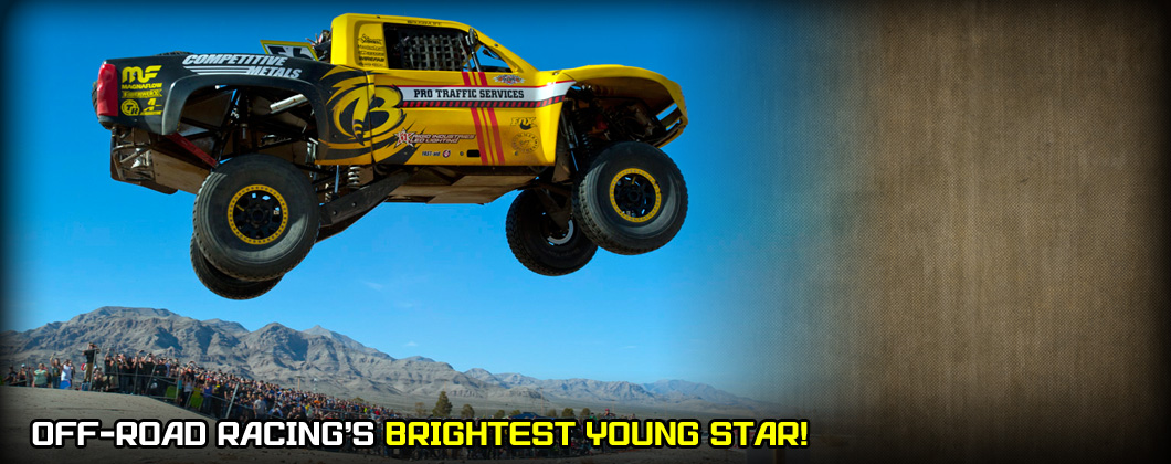 Brandon Arthur, Battle at Primm, SNORE, Trophy Truck, Pro Traffic Services, Competitive Metals, Rigid Industries, Aeromotive, Trailready Beadlocks