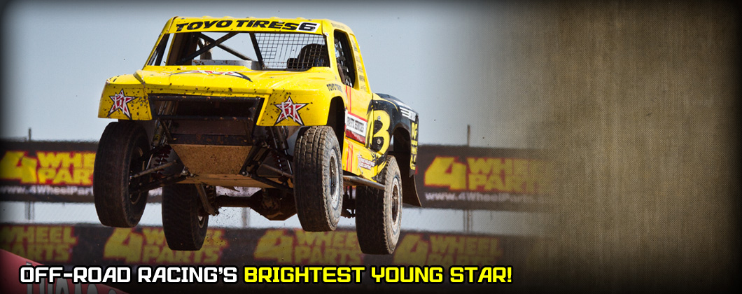 Brandon Arthur Prolite, Lucas Oil Off Road, Rigid Industries, Competitive Metals, Toyo Tires, Magnaflow