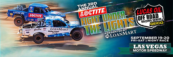 Lucas Oil Off Road, Fight Under The Lights, Las Vegas