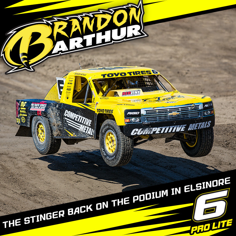 Brandon Arthur Back On Podium In Lake Elsinore