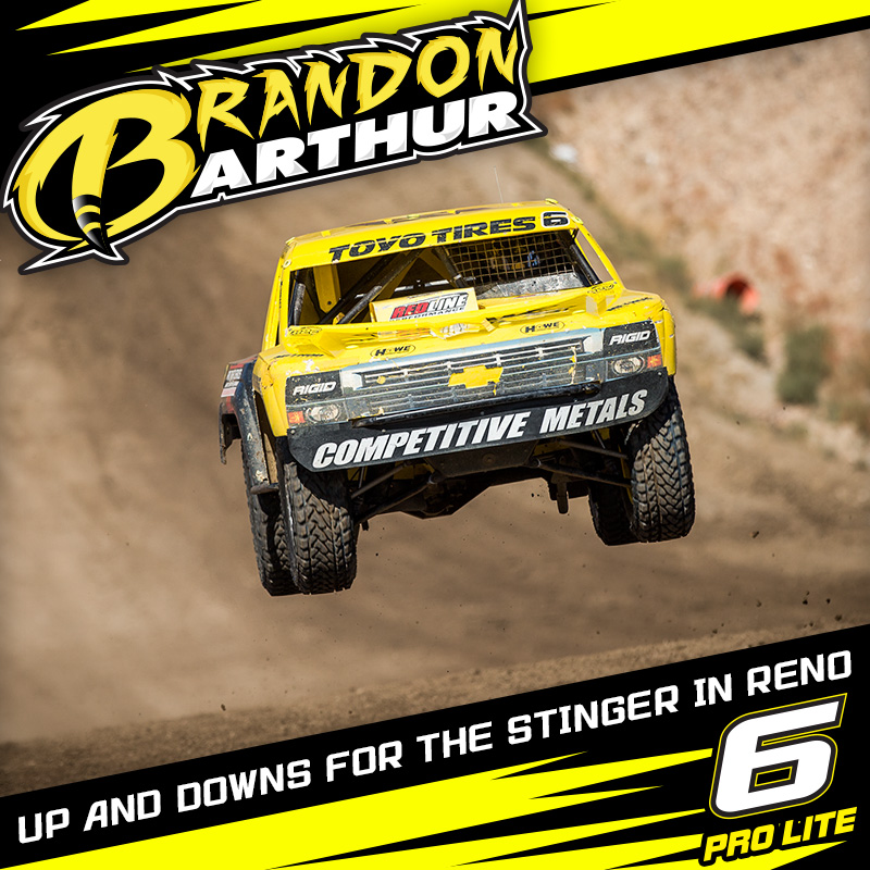 Ups And Downs For The Stinger At LOORRS Reno