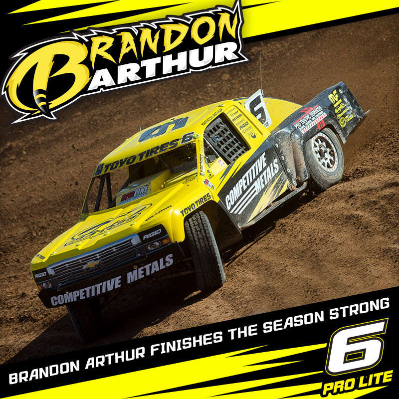 "Brandon ""The Stinger"" Arthur Finishes The Season Strong"