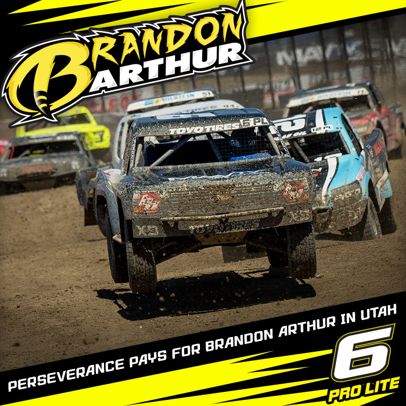 Perseverance Pays For Brandon Arthur At LOORRS Round 6