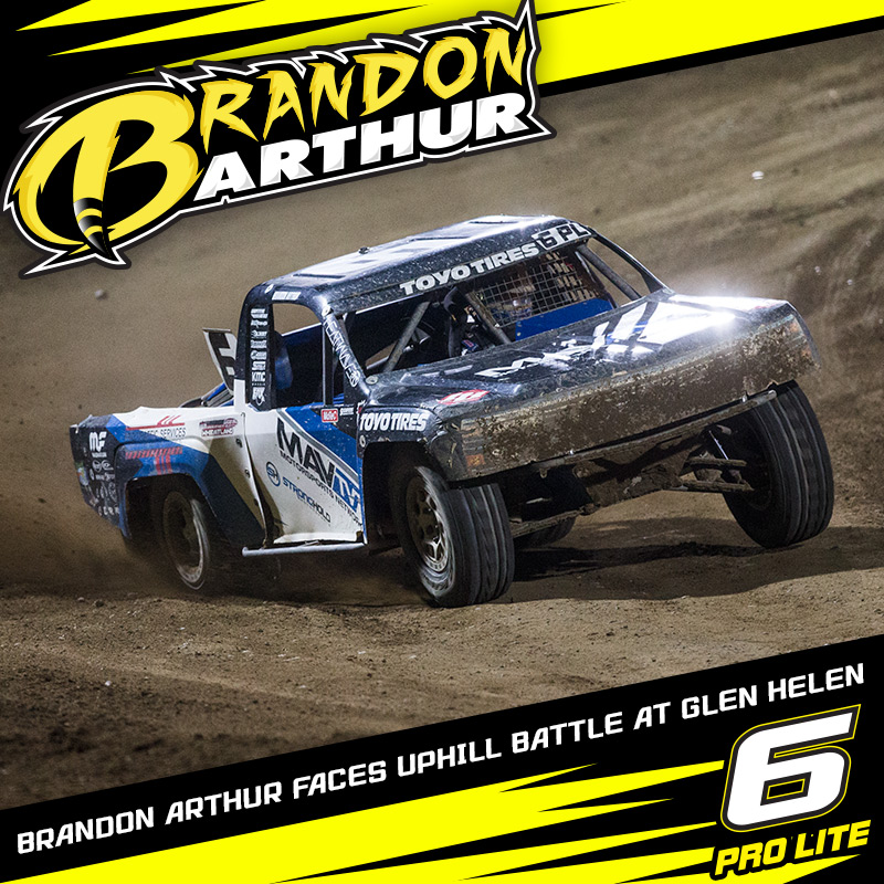 Brandon Arthur Under The Lights In Glen Helen