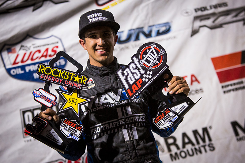 Brandon Arthur, Yamaha UTV, Lucas Oil Off Road, MAVTV