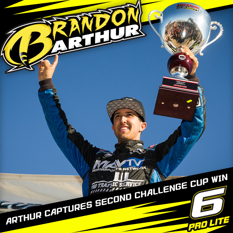 Brandon Arthur Ends Season With Second Challenge Cup Win